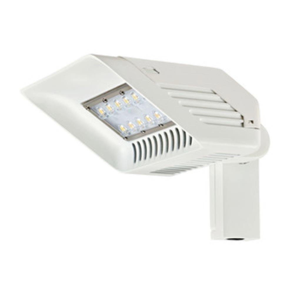 Aric - ARI50351 - ARIC 50351 - TAG - Projecteur Extérieur IP65 IK08, blanc, faisceau 60DEGx150DEG, LED intégrée 30W 4000K 2500 lumens
