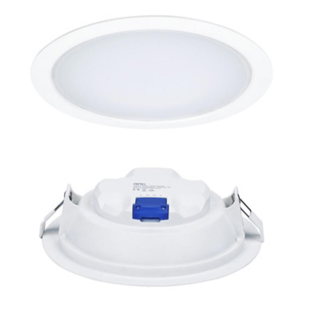 Aric - ARI50377 - ARIC 50377 - LEDIUM 15 - Downlight IP20/44, rond, fixe, 110DEG, LED intégrée 15W 4000K 1200 lumens