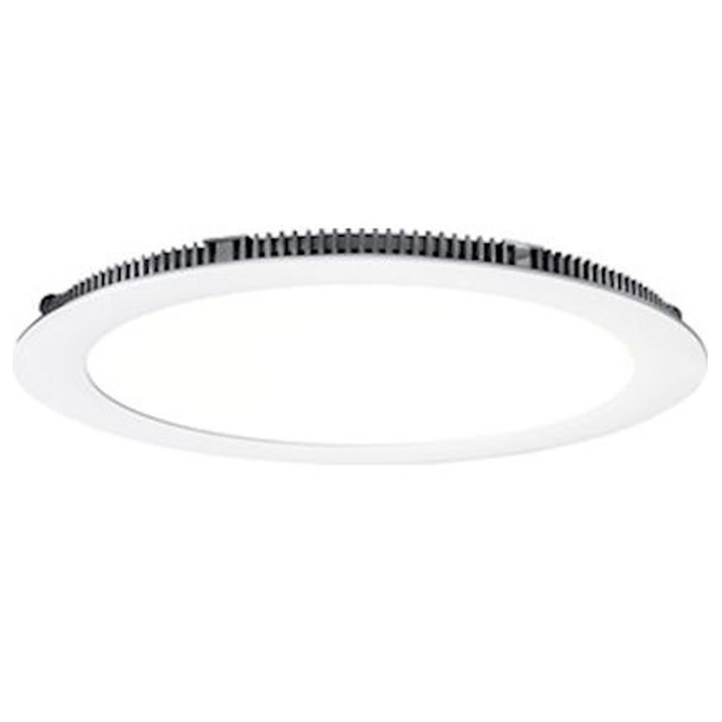Aric - ARI50379 - ARIC 50379 - FLAT LED-Downlight plat rond fixe blanc