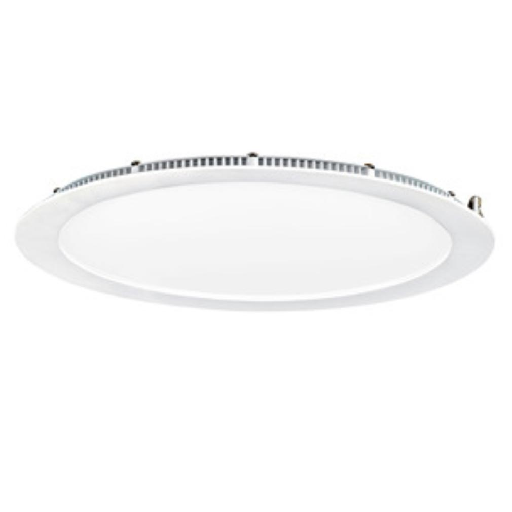 Aric - ARI50380 - ARIC 50380 - FLAT LED - Downlight plat rond fixe blanc 110DEG LED intégrée 30W 4000K 2500 lumens, variable