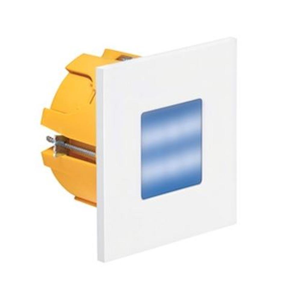 Aric - ARI50381 - ARIC 50381 - BALIZ 2 - Encastré de mur carré, fixe, blanc