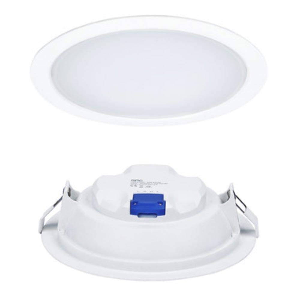 Aric - ARI50419 - ARIC 50419 - LEDIUM 25 - Downlight IP20/44, rond, fixe, 110DEG, LED intégrée 25W 3000K 1950 lumens