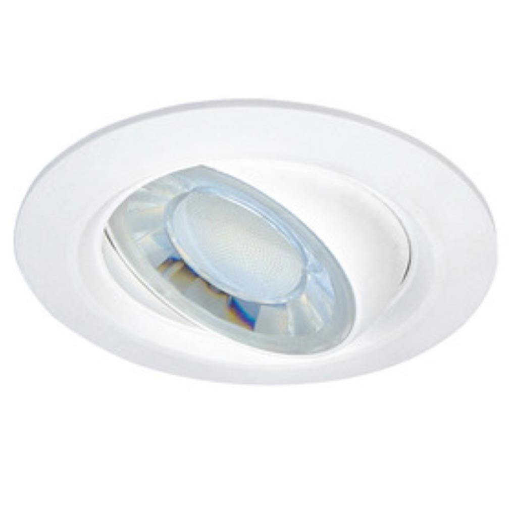 Aric - ARI50422 - ARIC 50422 - EYDI - Encastré rond, basculant, LED intégrée 8W 4000K 630 lumens, variable
