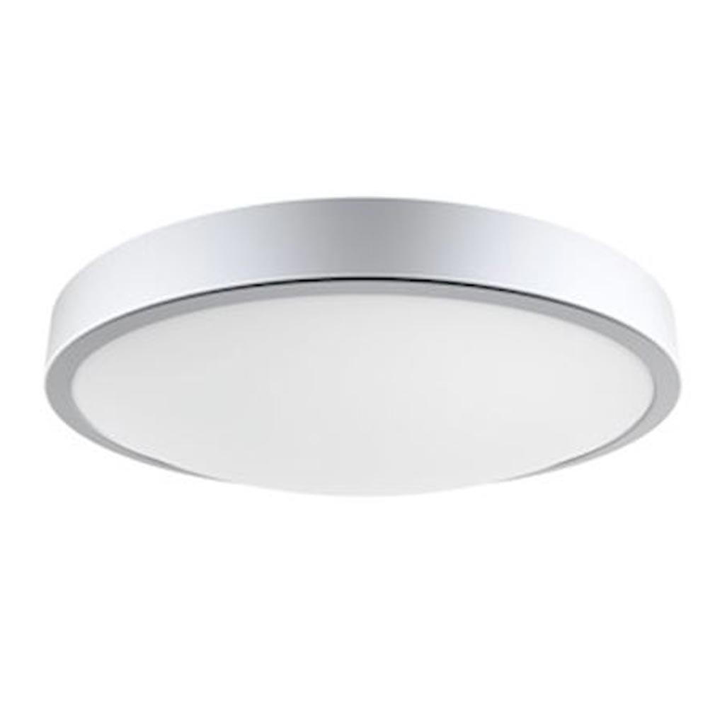 Aric - ARI50437 - ARIC 50437 - C4 - Plafonnier / Applique Mur IP44 LED intég. 21W 4000K 1500lm