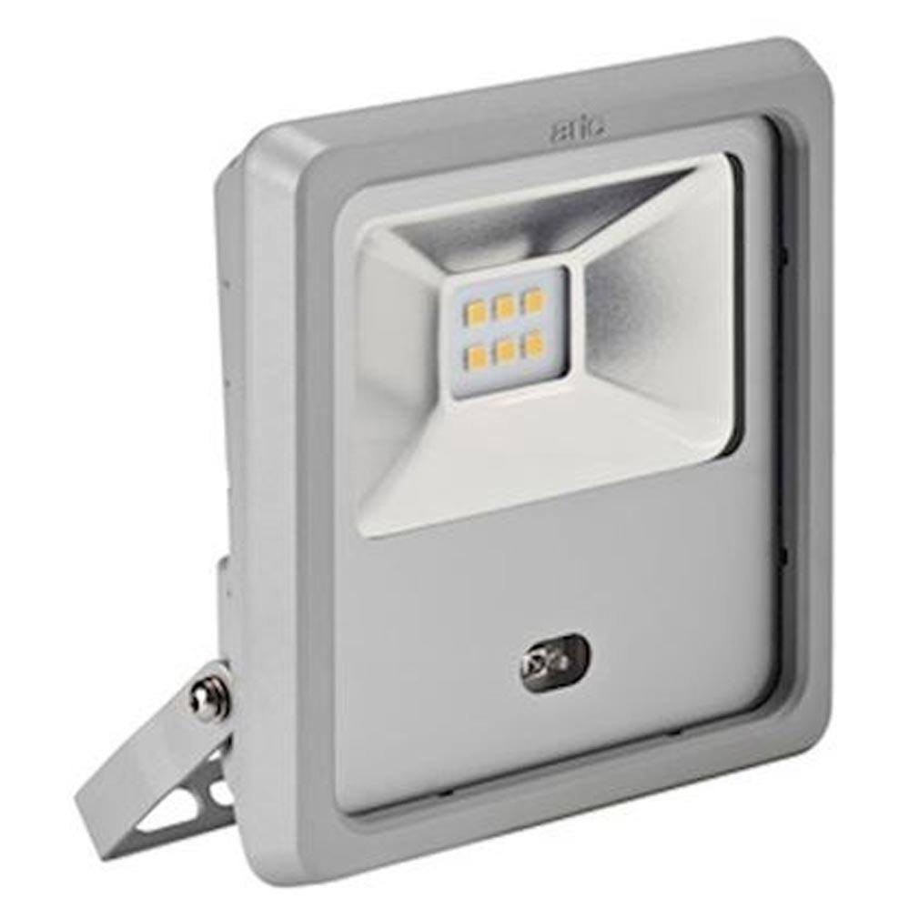 Aric - ARI50483 - ARIC 50483 - TWISTER 2 SENSOR - Projecteur Extérieur LED IP65 IK08, gris, symétrique