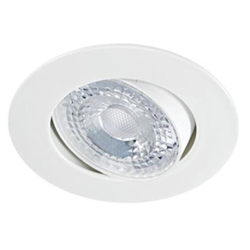 Aric - ARI50535 - ARIC 50535 - K8 - Encastré D=80mm, basculant à 20DEG, blanc