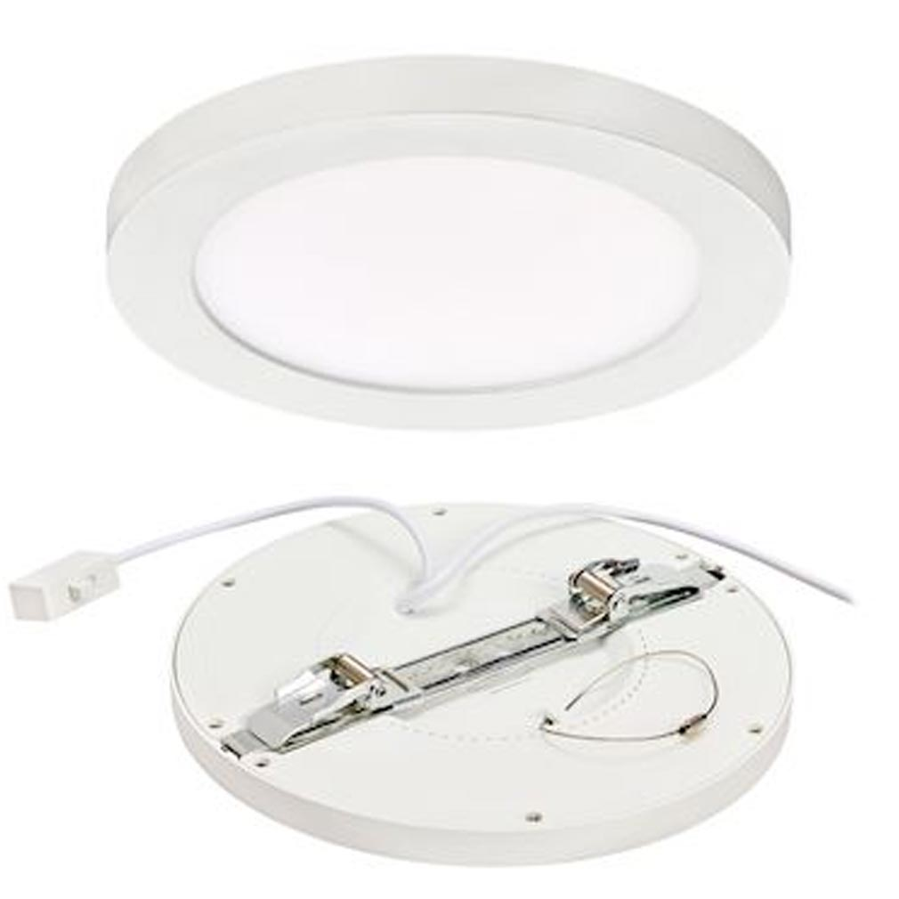 Aric - ARI50715 - ARIC 50715 - UNIVERSAL - Encastré réglable, fixe, blanc, LED 18W 1400lm 3000/4000/6000K (CCT)