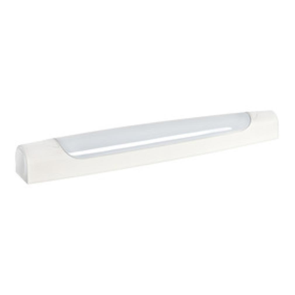 Aric - ARI53026 - ARIC 53026 -  MAUD ASY -Réglette IP20/21 IK07 H.Vol. a/PC+inter LED intégrée 8W 4000K 800 lumens ,blanc