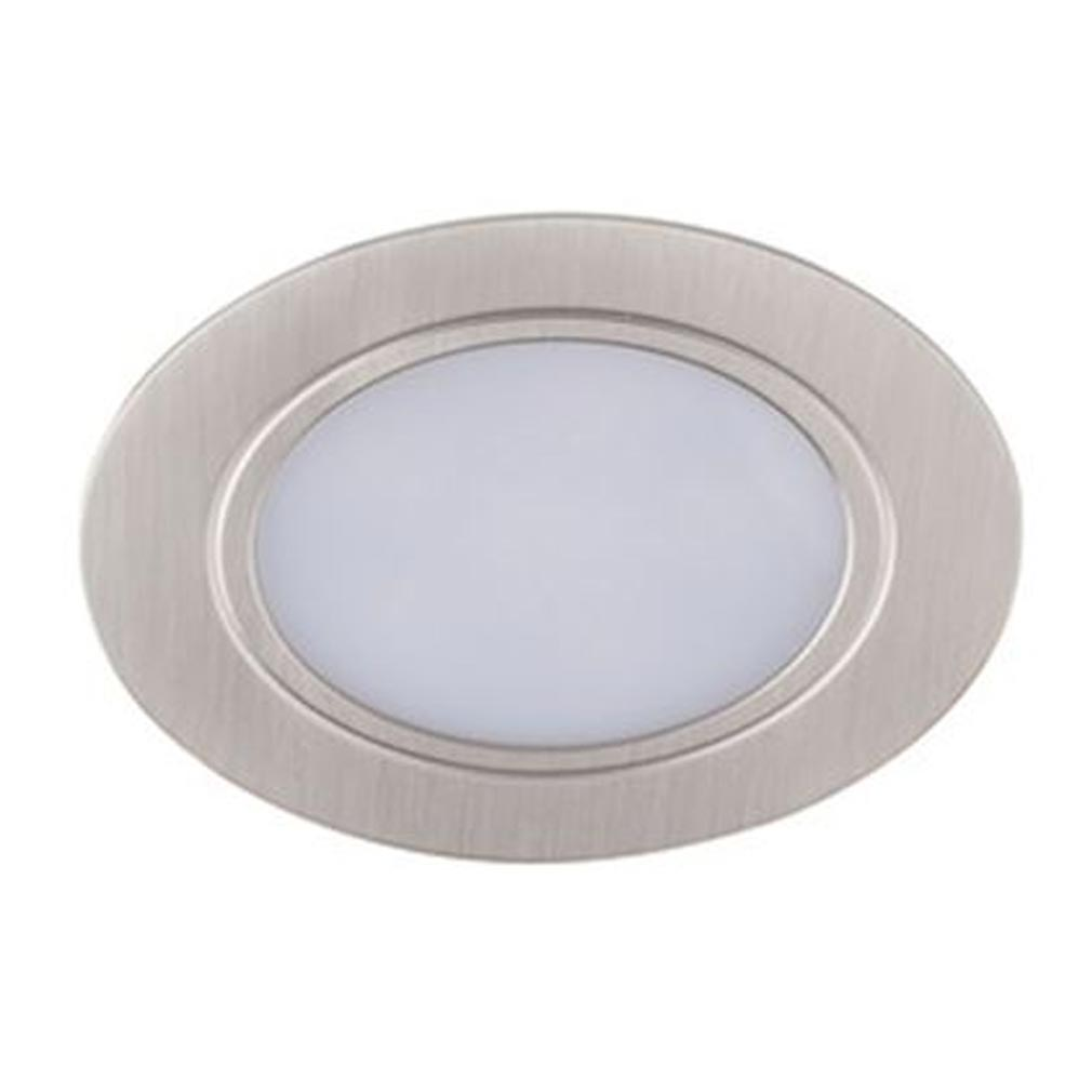 Aric - ARI5332 - ARIC 5332 - MEUBLED - Encastré IP44, rond, fixe, alu, LED intégrée