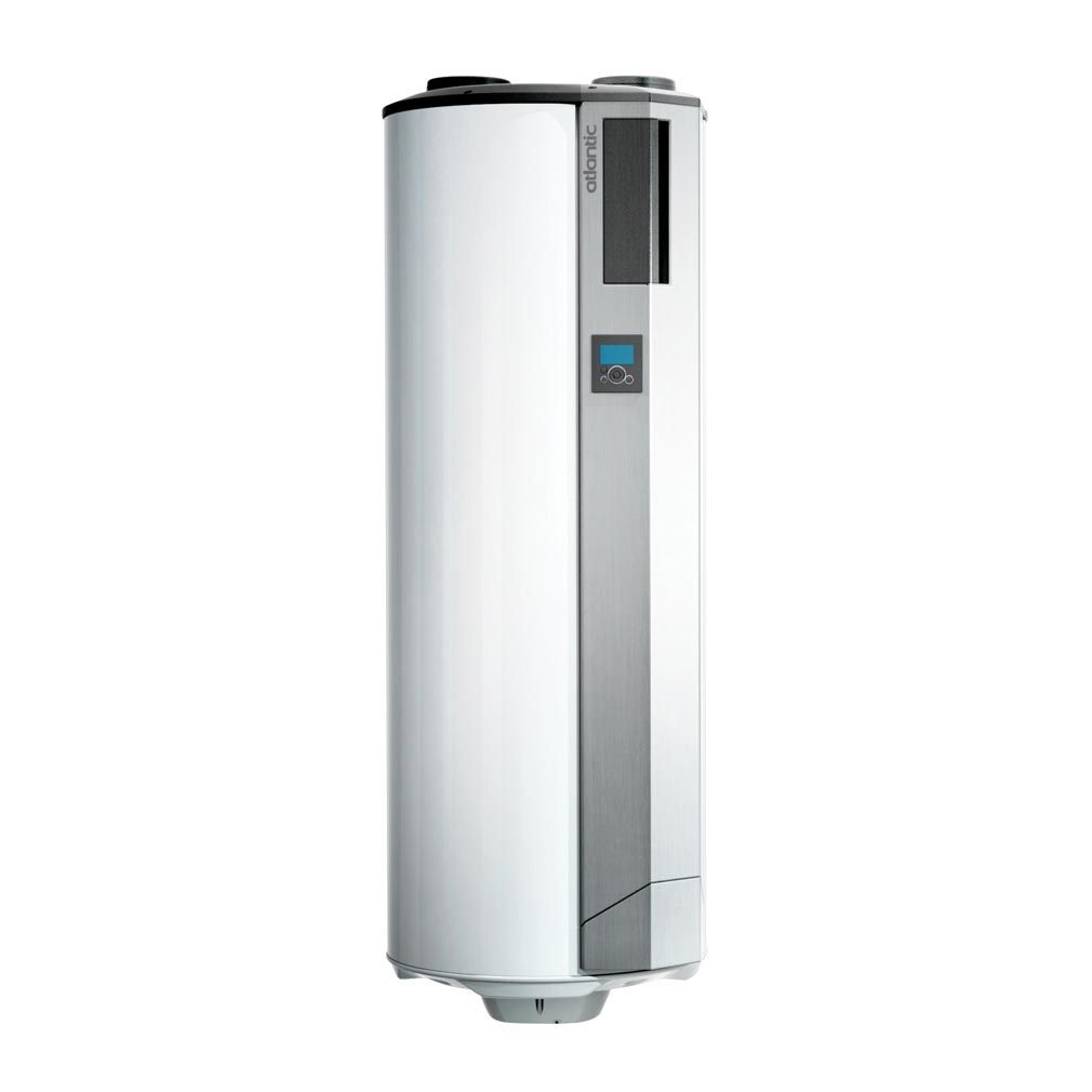 Atl clim - ELG350102 - ATLANTIC Aquacosy Av 200L - Chauffe-Eau Thermodynamique Sur Vmc Avec Ventilateur 200L