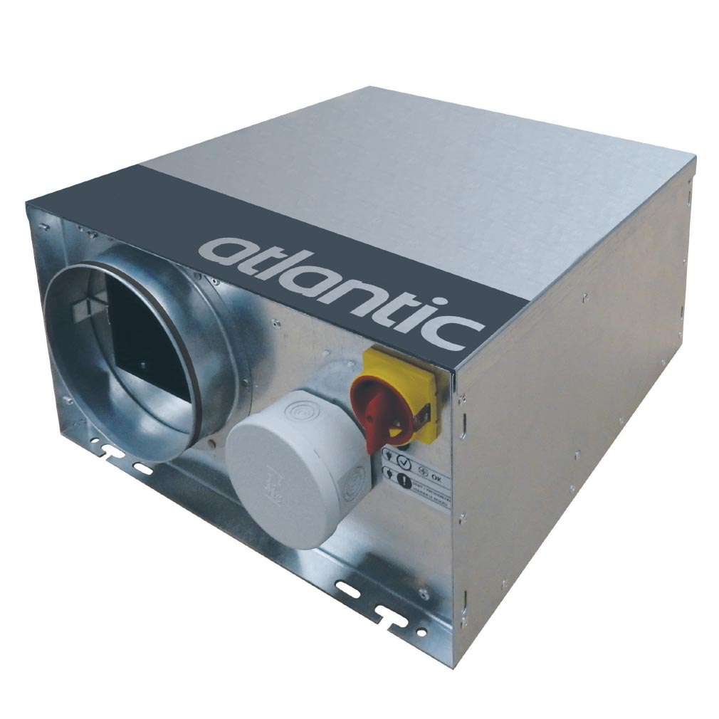 Atl clim - ELG512196 - ATLANTIC Critair Bc 300 - Caisson D'Extraction Basse Consommation Petit Local