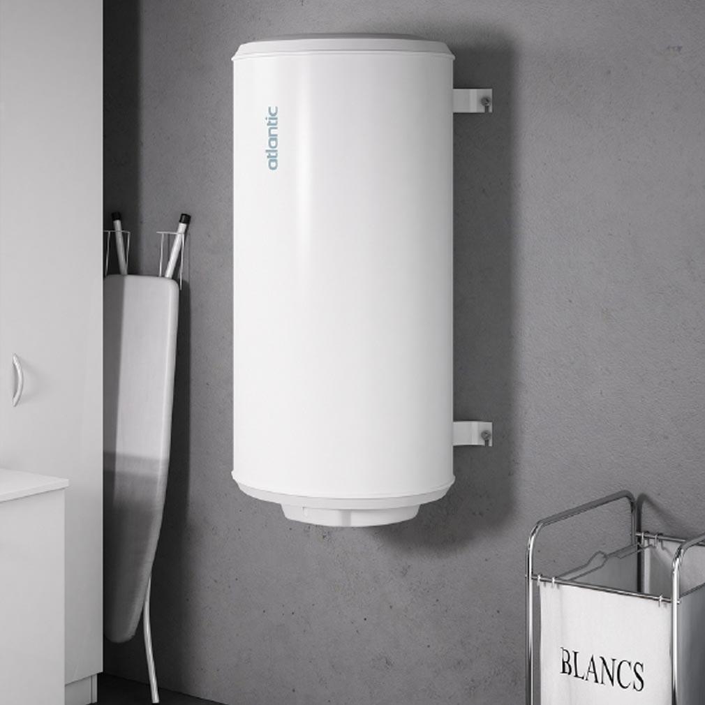 Atlantic - ATL021107 - Chauffe-eau électrique ATLANTIC CHAUFFEO 75 litres à résistance blindée mural vertical monophasé