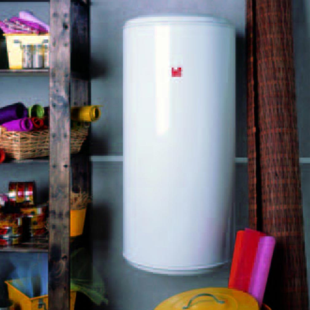 Atlantic - ATL023120 - Chauffe-eau électrique ATLANTIC CHAUFFEO 200 litres à résistance blindée mural horizontal monophasé