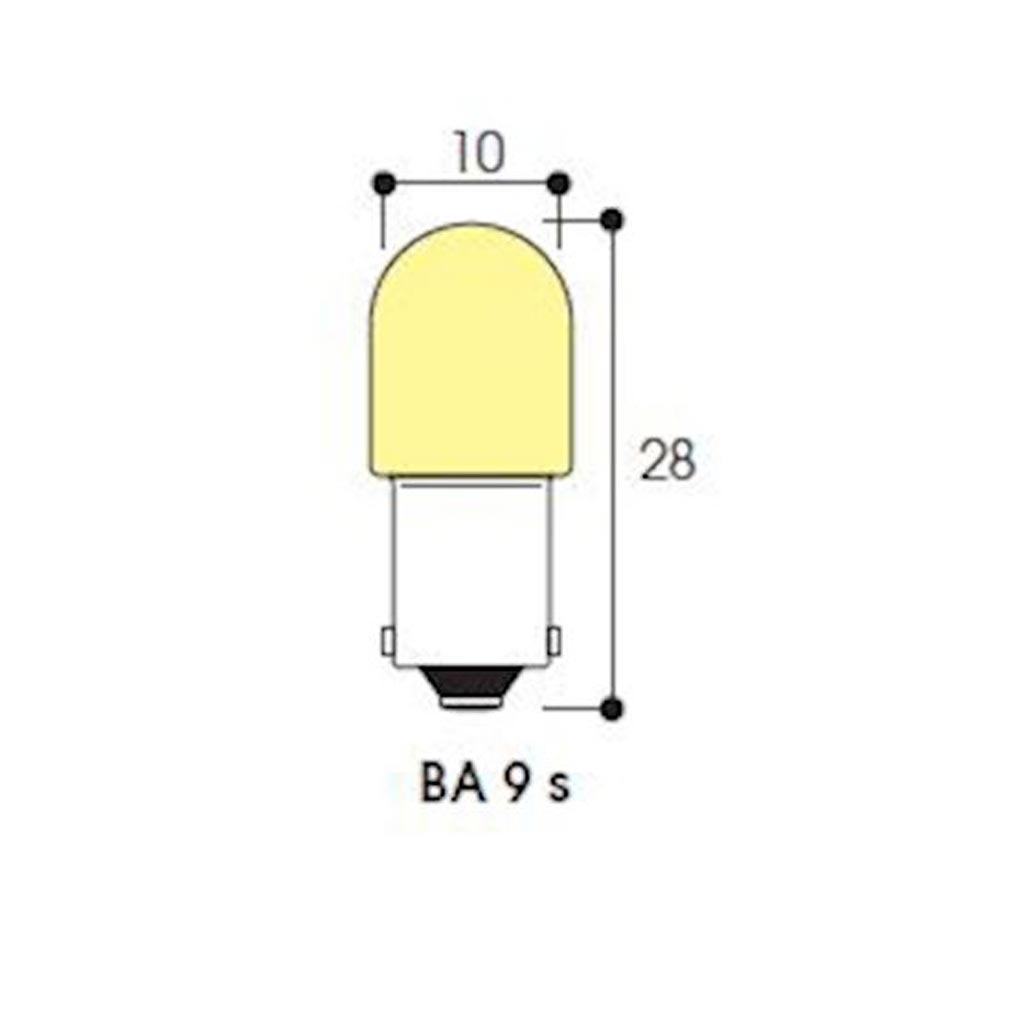 Aurora - ABIAB2380 - AURORA AB2380 -  LM - Tube 10X28 240V 3W BA9s