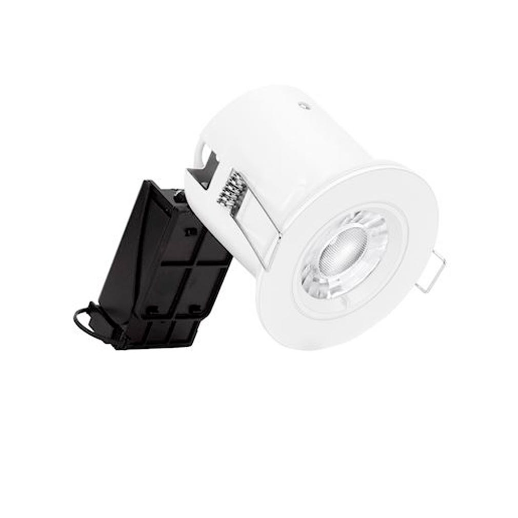 Aurora - ABIENAL110W40 - AURORA ENAL110W40 -  IsoPro Kit spot encastré aluminium fixe IP65 GU10 5W 4000K blanc