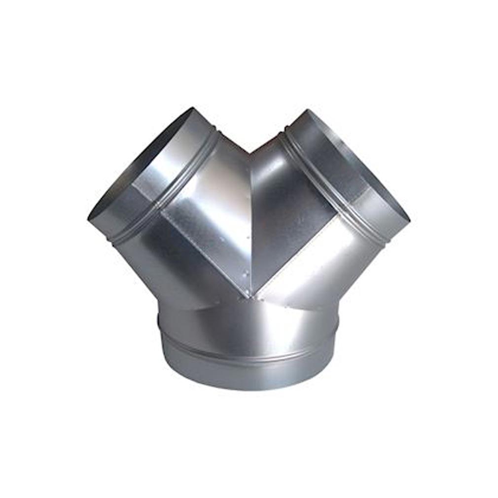 Baillindu - BLLCULOT200160 - BAILLINDUSTRIE  CULOT200/160  - CULOTTE REDUITE 1 ARRIVEE DIAMETRE 200 MM - 2 DEPARTS DIAMET
