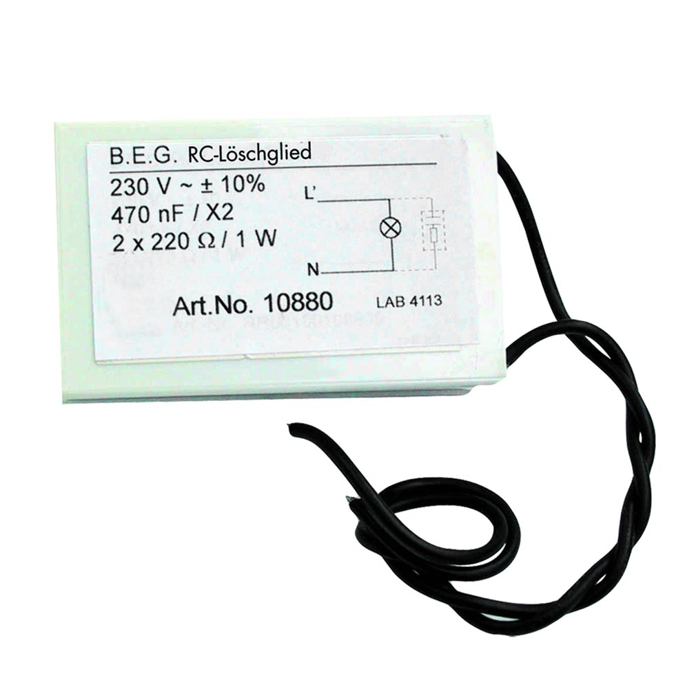 Beg - BE410880 - FILTRE ANTI ARC CIRCUIT INDUCTIF