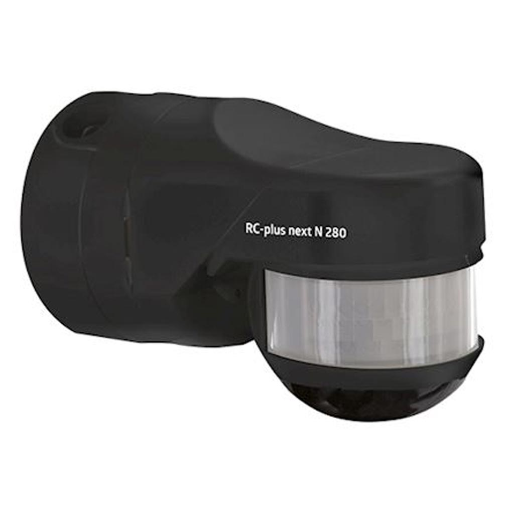 Beg - BE493343 - BEG 93343 - RC-PLUSNEXTN280NOIR - Détecteur de mouvement extérieur RC-plus next N 280