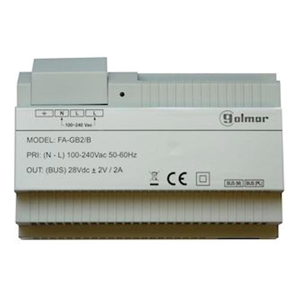 Bitron - BITGFAGB2B -  BITRON GFAGB2B - Alimentation installation BUS 2 fils (GB2) 28 volts