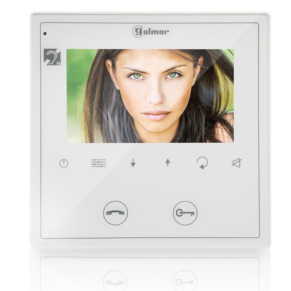 Bitron - BITGVESTA2GB2H - Moniteur couleur mains libre VESTA 2 écran 4.3'