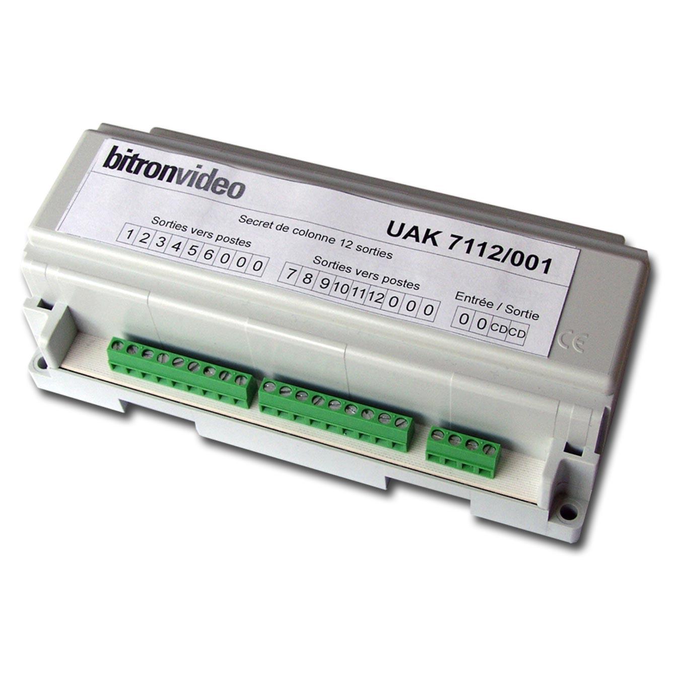 Bitron - BITUAK7112001 - SECRET 2 FILS DE COLONNE