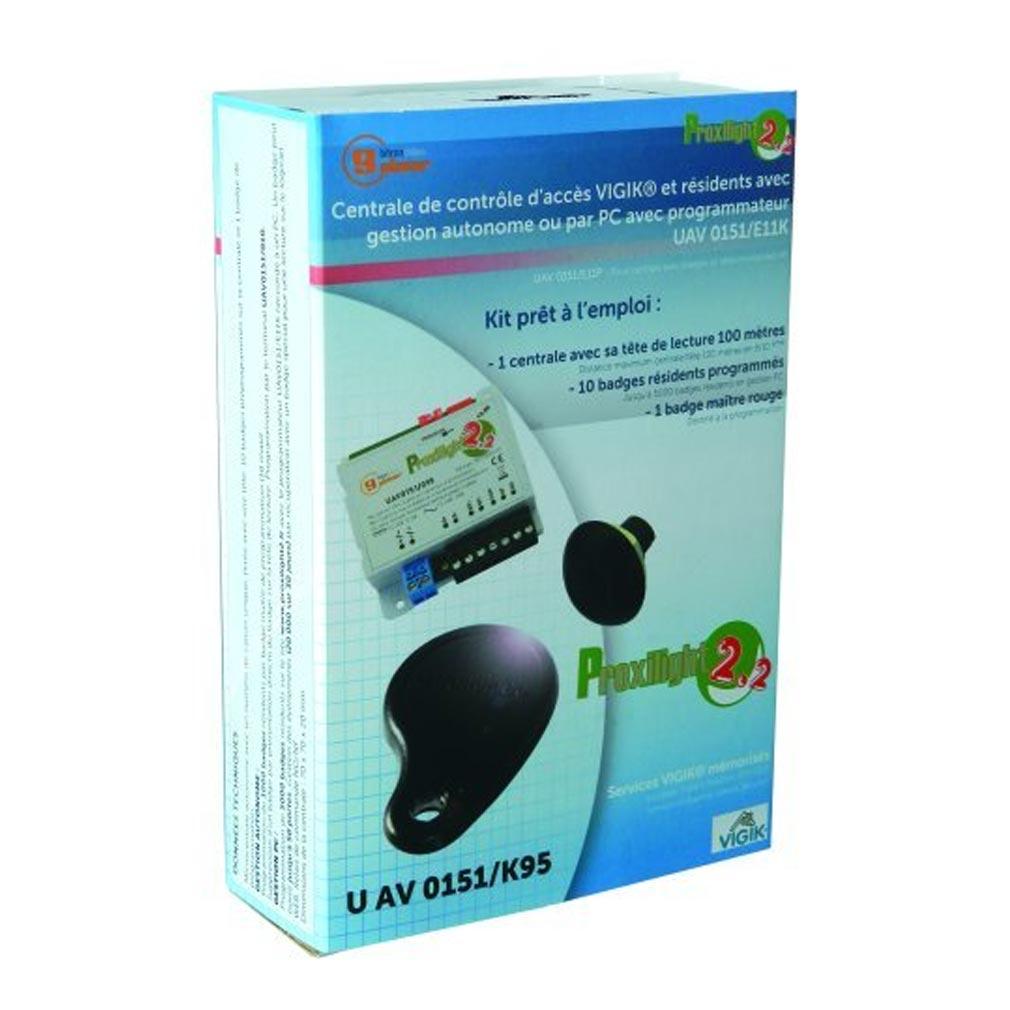 Bitron - BITUAV0151K95 - KIT VIGIK COMPLET V2.2 AVEC 11 CLEFS