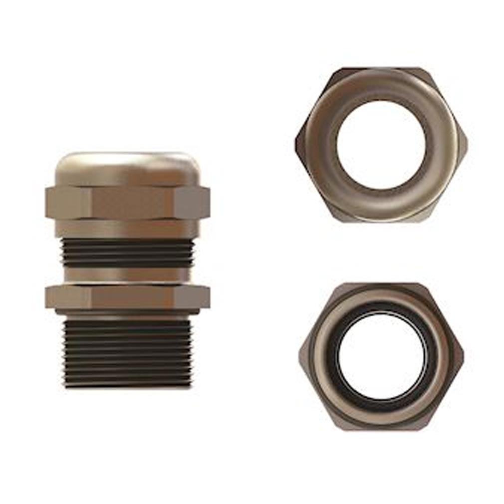 Bizline - BIZ208213 - BIZLINE 208213 -  Presse-étoupe métal filetage PG 13.5 (x 50)