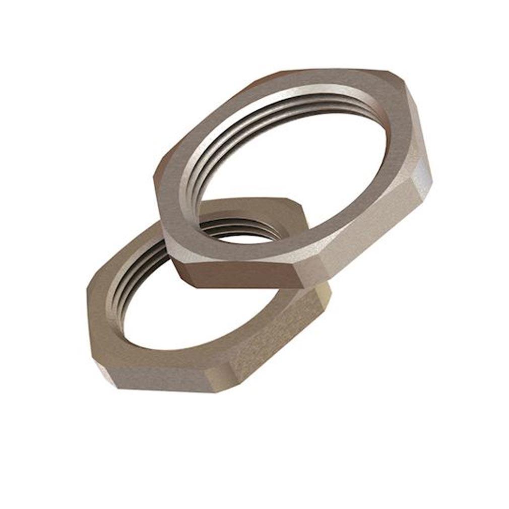Bizline - BIZ208763 - BIZLINE 208763 -  Contre-écrou métallique M/ISO 63 (X 10)