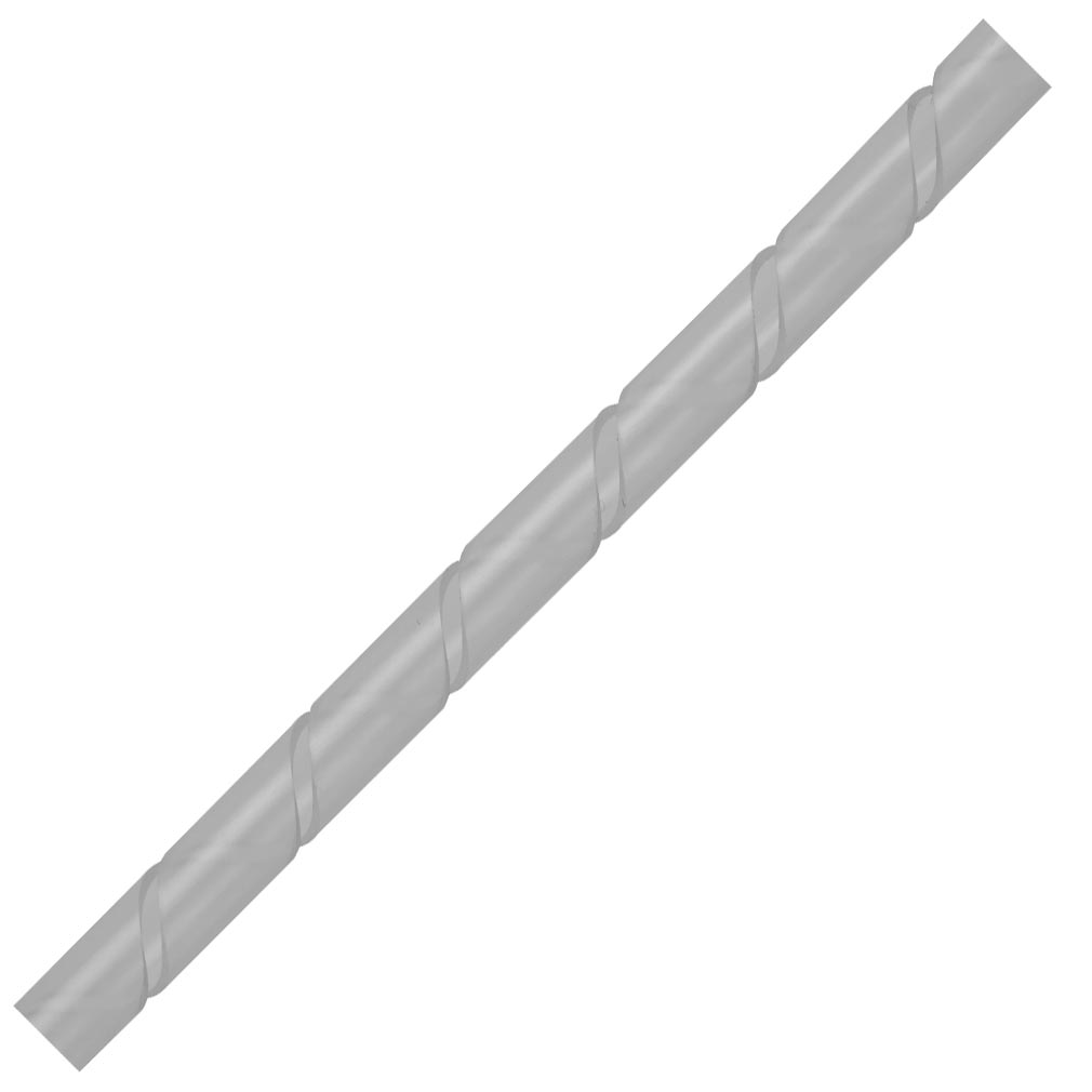 Bizline - BIZ210215 -  Gaine spiralée Ø 15 mm 10 m transparente