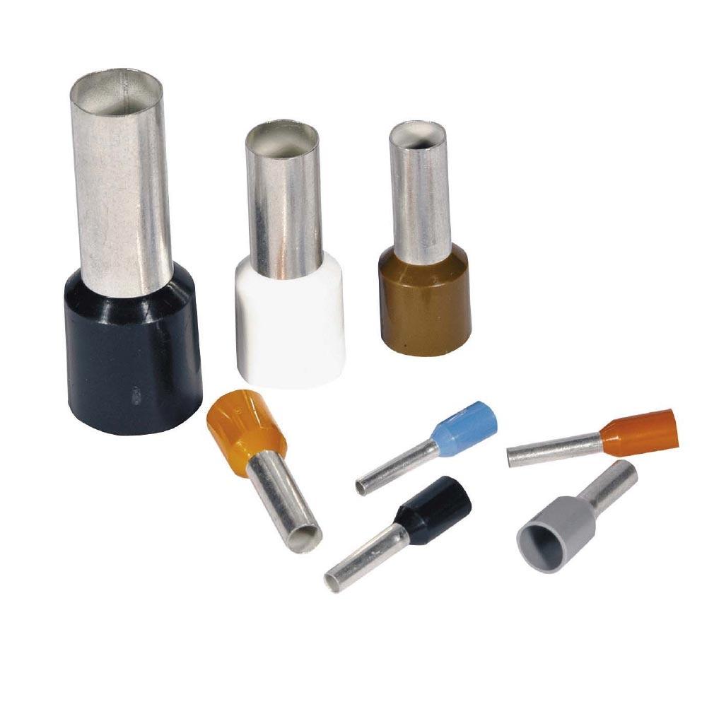 Bizline - BIZ225007 -  Embout de câblage simple 6 mm² vert (x 100)