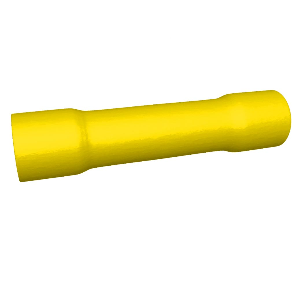 Bizline - BIZ245030 -  Manchon pré-isolé jaune 4-6 mm² (x 1000)