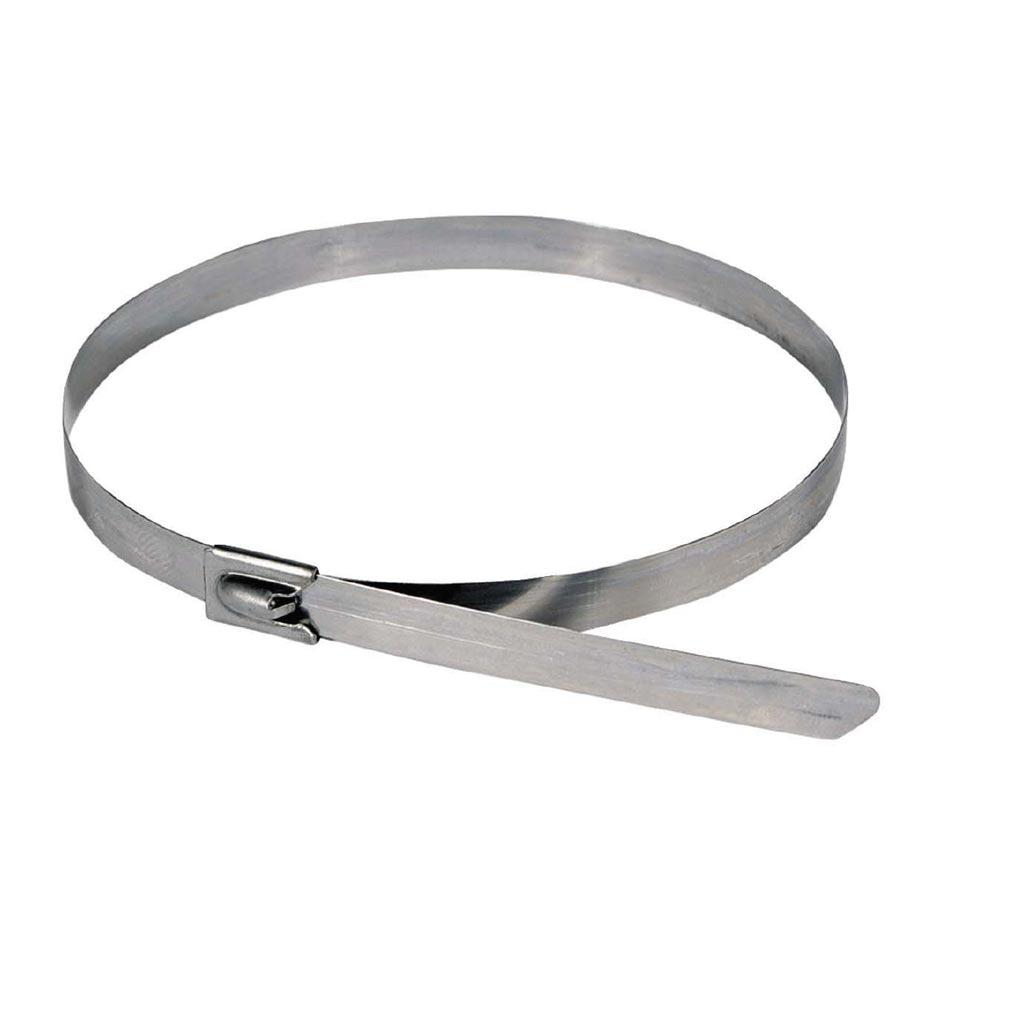 Bizline - BIZ300104 - Collier de câblage inox 838 x 7.9 mm (x 50)