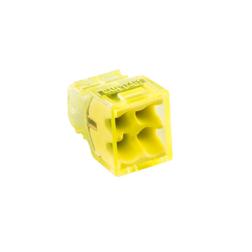 Bizline - BIZ300604 - Borne de connexion CHRISTA'L MINI 4 entrées (x 100)
