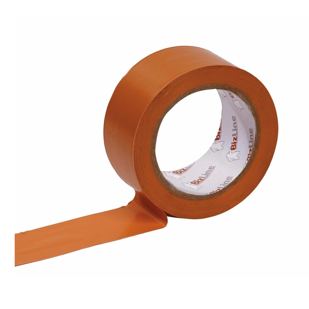 Bizline - BIZ351010 - Ruban pare-vapeur 50 mm x 33 m x 0.13 mm orange