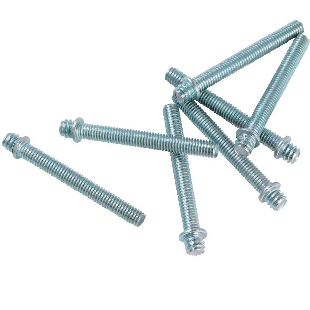 Bizline - BIZ400045 -  Patte à vis bois 7 x 150 longueur 50 mm (x 100)