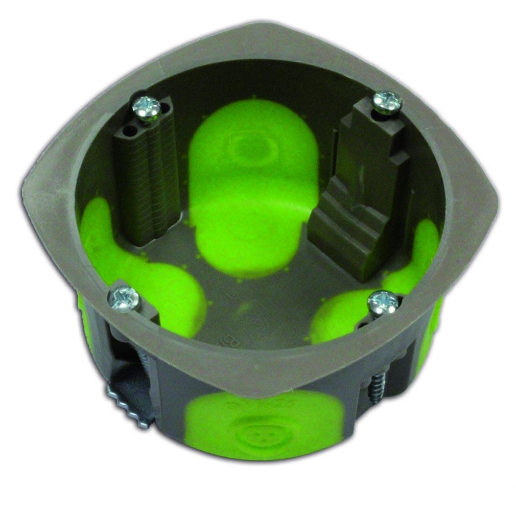Bizline - BIZ500150 -  Boîte simple d'appareillage R'Box Ø 67 mm 1 poste profondeur 50 mm