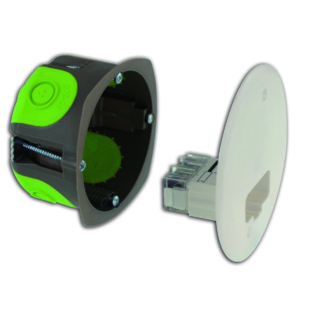 Bizline - BIZ500154 -  Boîte d'applique DCL R'Box Ø 54 mm profondeur 40 mm