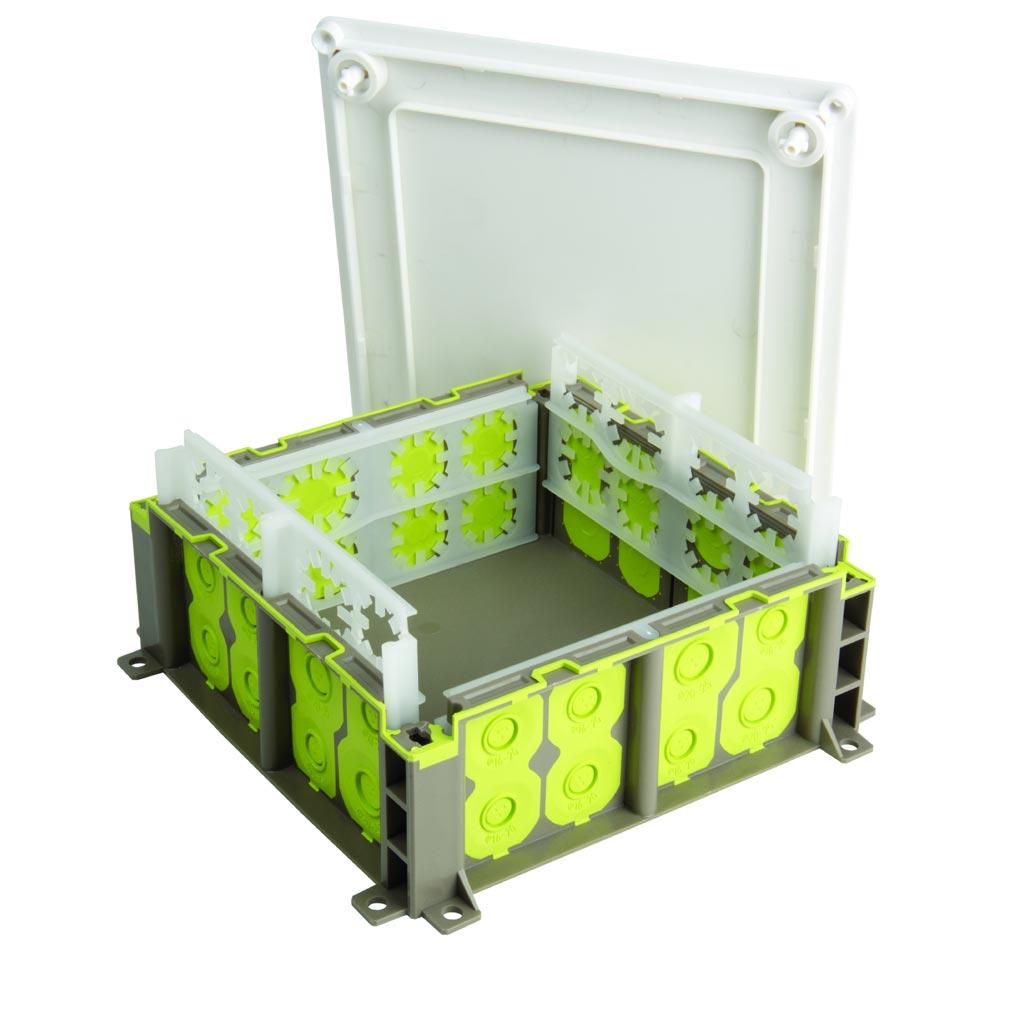 Bizline 502515 - Bizline 502515 -  Boîte pavillonnaire R'Box 150 x 150 x 80 mm...