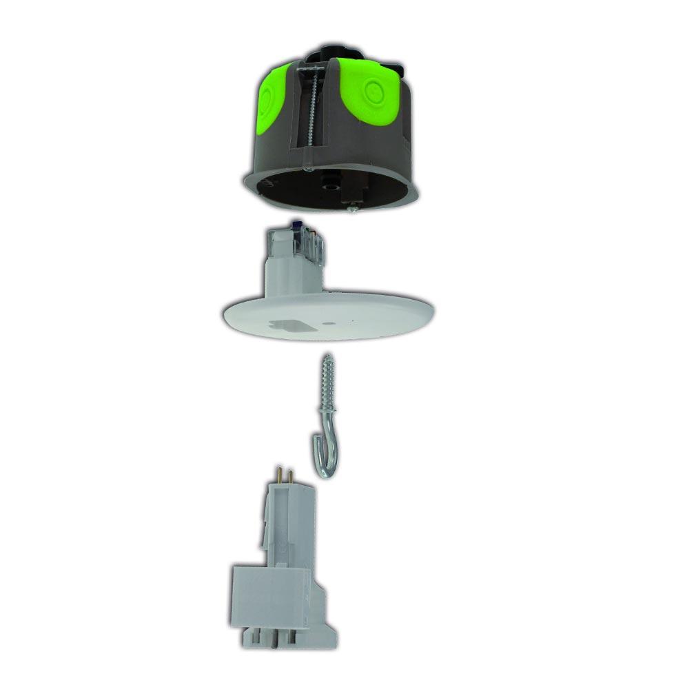 Bizline - BIZ527067 -  Kit point de centre DCL R'Box Ø 67 mm profondeur 50 mm avec douille E27
