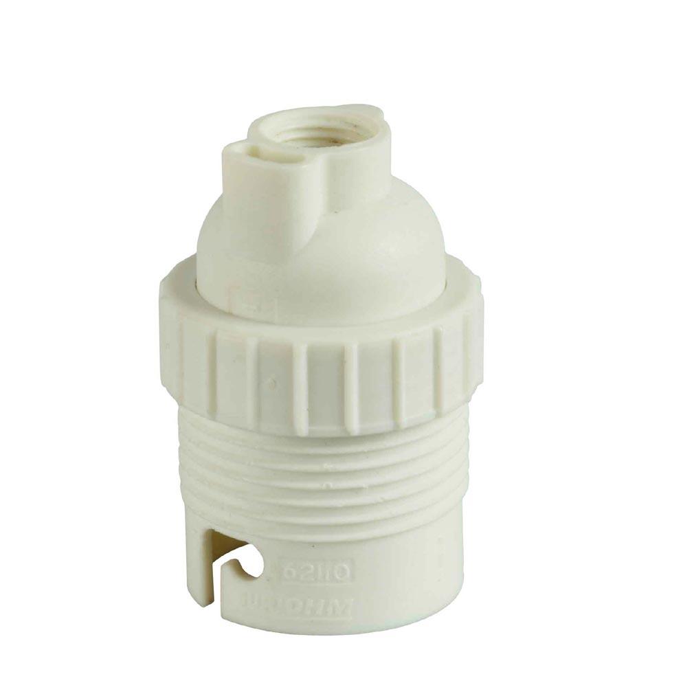 Bizline - BIZ620110 - Douille plastique B22 simple bague
