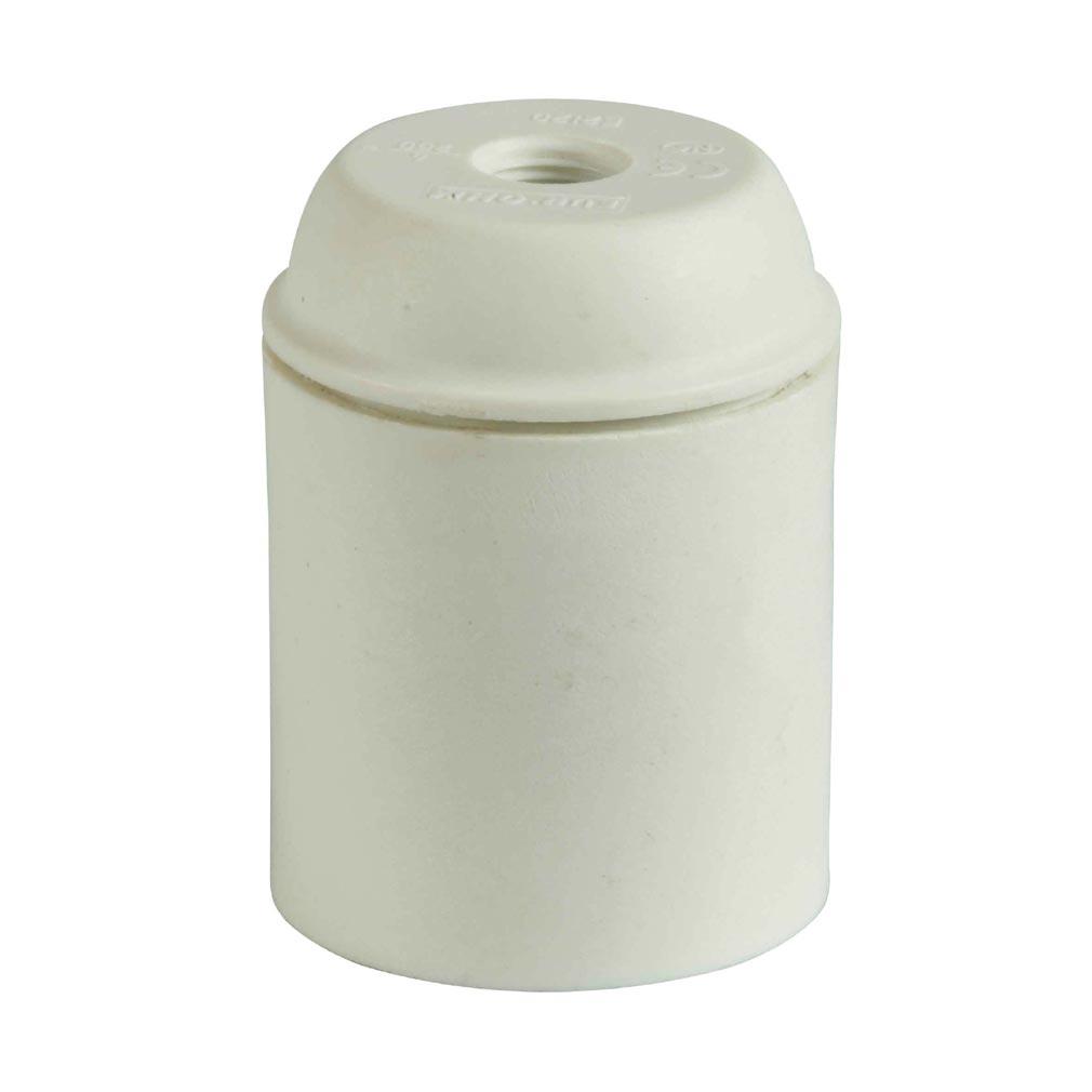 Bizline - BIZ620112 - Douille plastique E27 simple bague