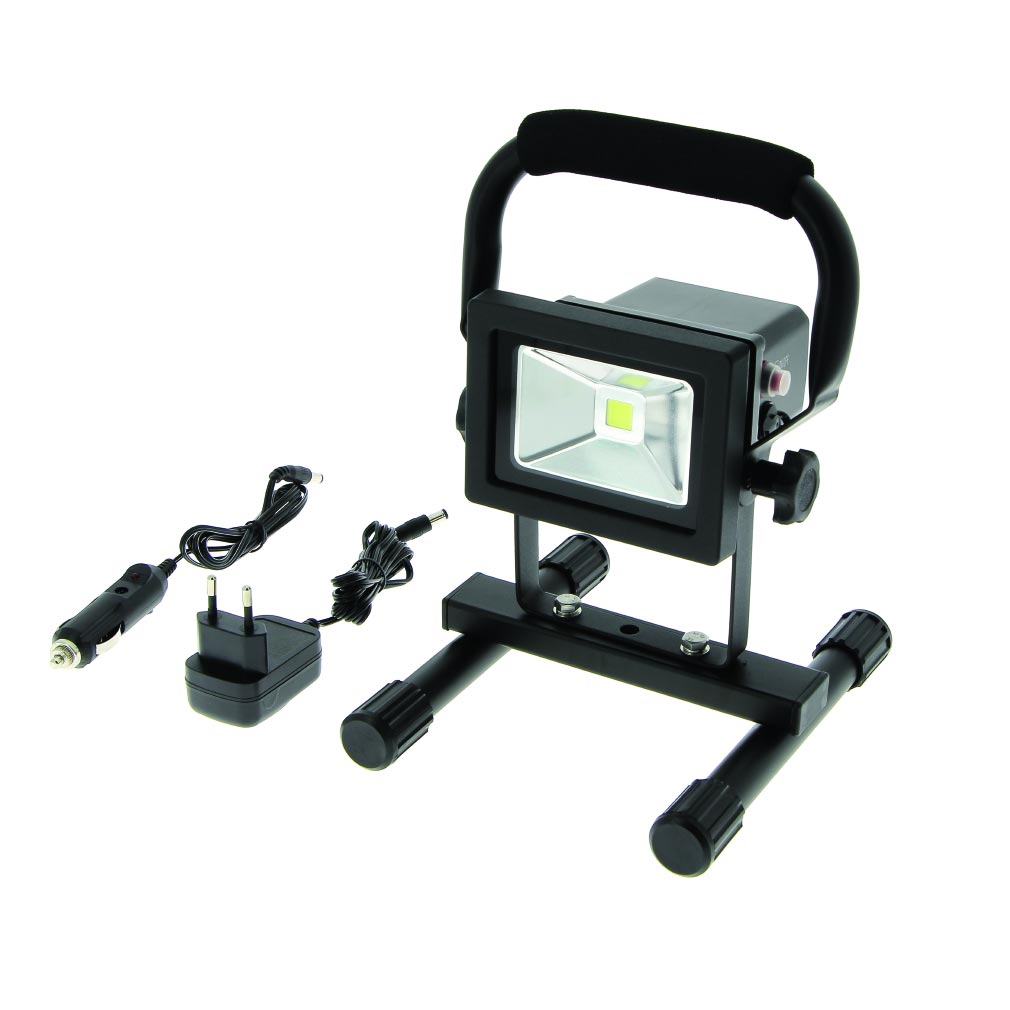 Bizline - BIZ625025 - Projecteur LED 10 W rechargeable