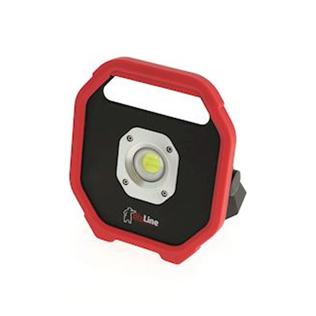 Bizline - BIZ625027 - BIZLINE 625027 - Projecteur de chantier LED 10W 230 V AC rechargeable