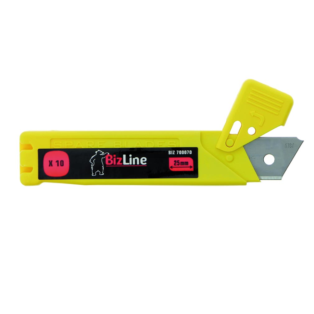 Bizline - BIZ700070 -  Jeu de 10 lames pour cutter BIZ 700 069