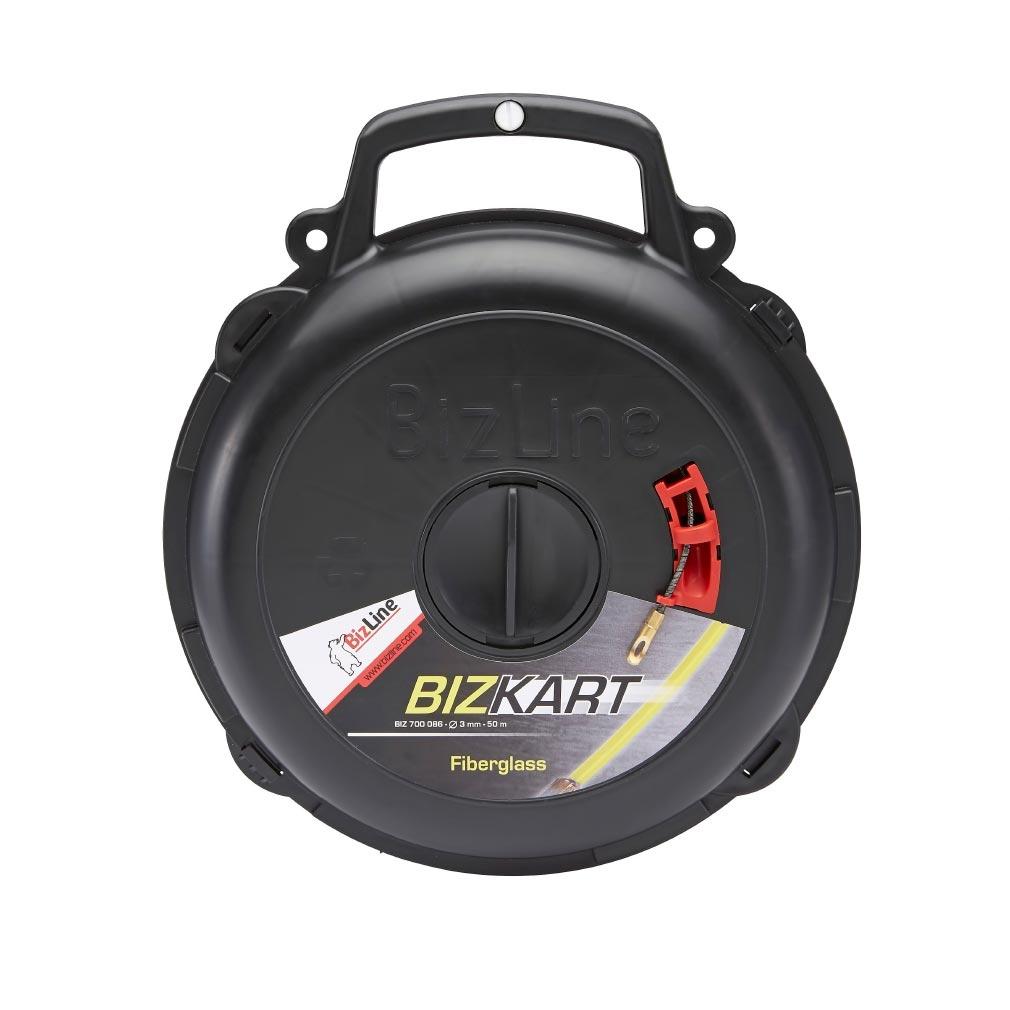 Bizline - BIZ700076 -  Aiguille fibre de verre Ø 3 mm 30 m avec carter BIZKART