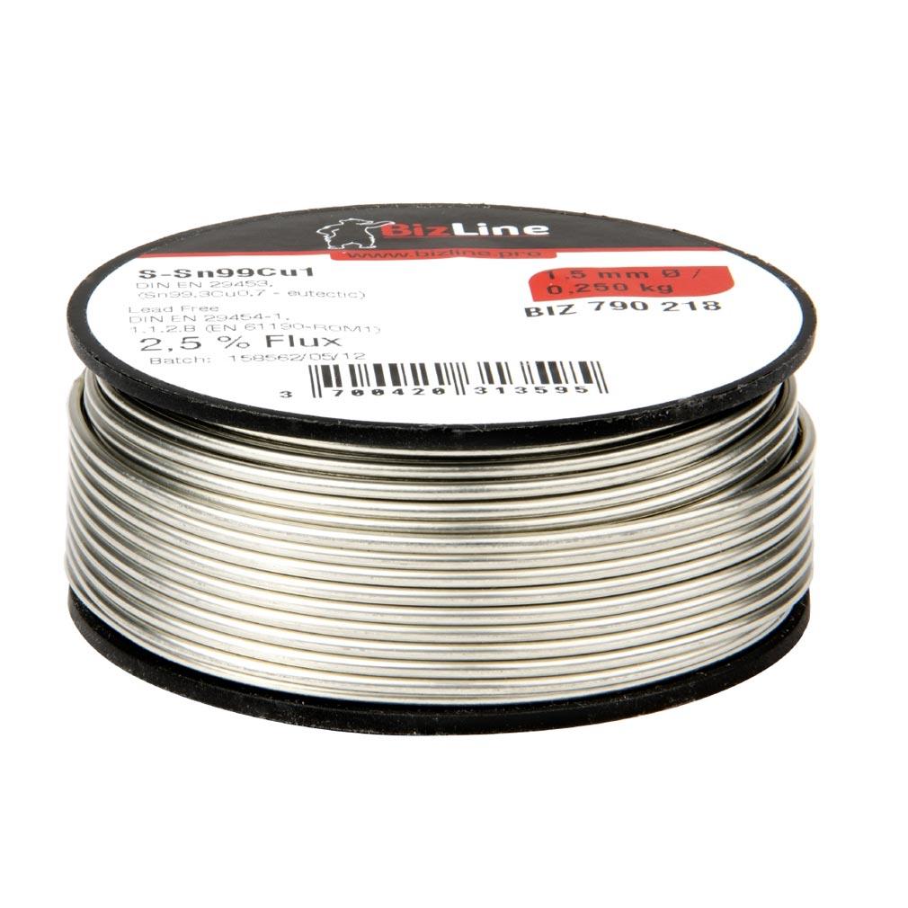 Bizline - BIZ700100 -  Fil de soudure 500 g D 2 mm