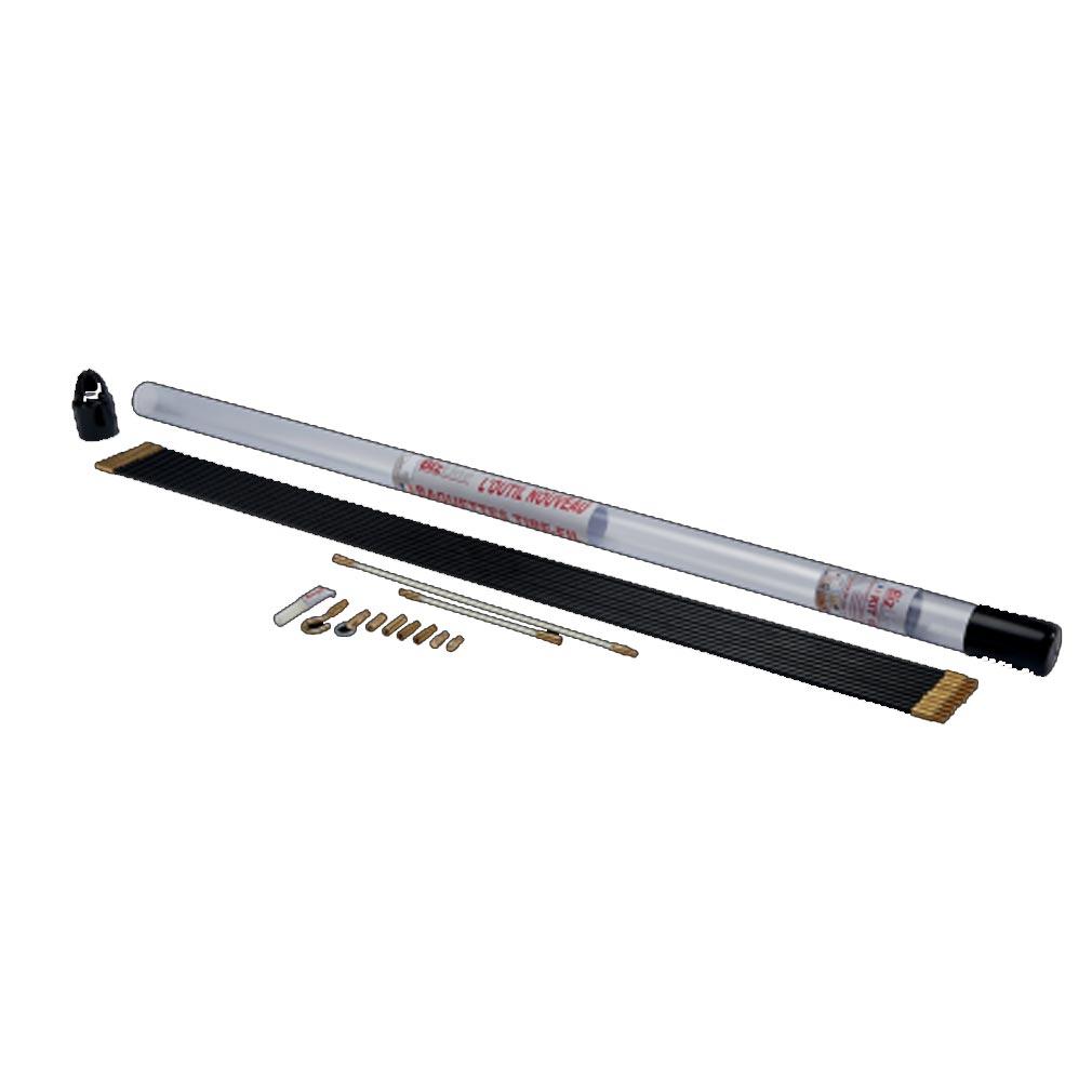 Bizline - BIZ700146 - BIZLINE 700146 -  Kit de 10 baguettes tire-fils 1 m Ø 6 mm noires