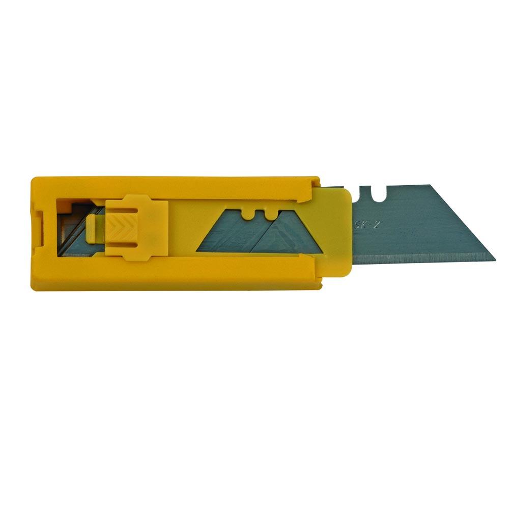 Bizline - BIZ700178 - Jeu de 10 lames trapèze pour cutter BIZ 700 040