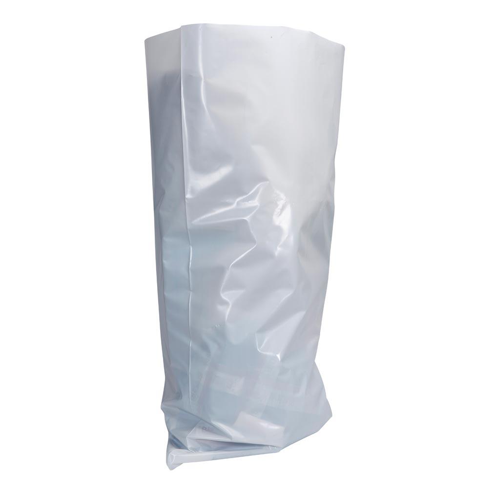 Bizline - BIZ700214 -  Sac à gravats opaque blanc en polyéthylène 50 L (x 10)