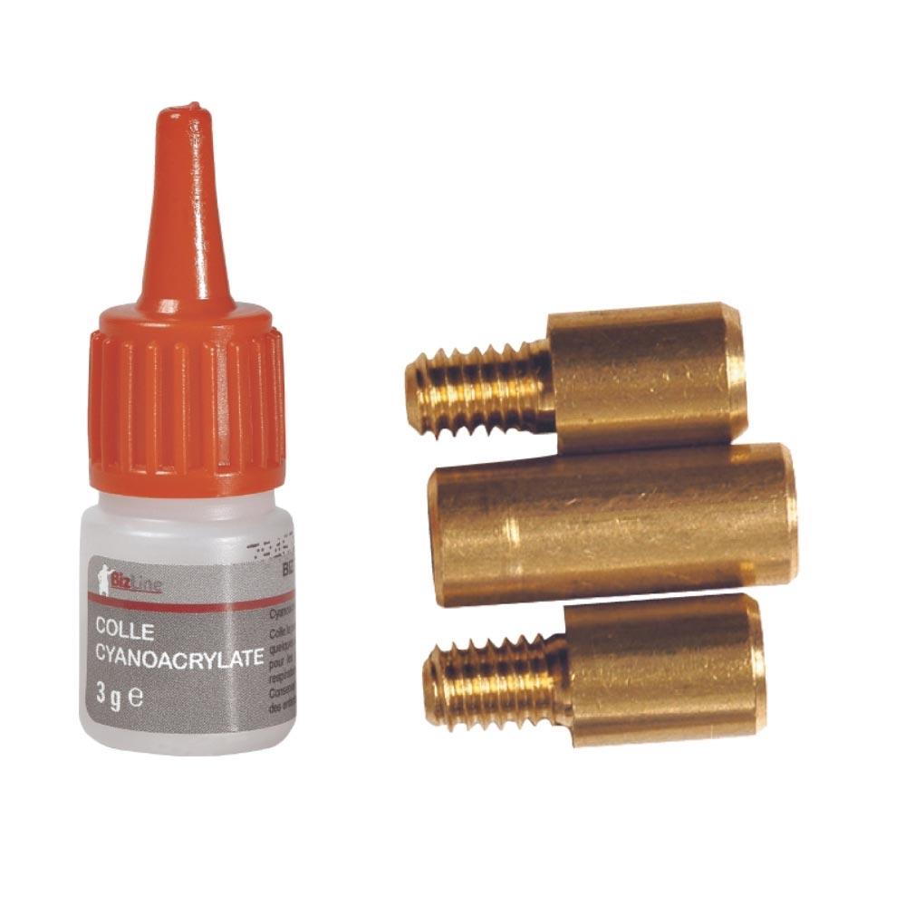 Bizline - BIZ700216 -  Kit de réparation pour aiguille fibre de verre D 3 mm